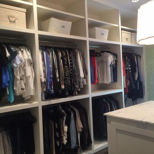Closet move in