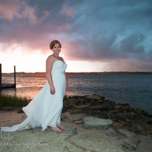 Topsail Beach NC Wedding Photographers, Hazelwood Photography