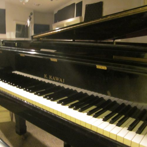 "The Kawai Grand in the ""A"" Room Studio"