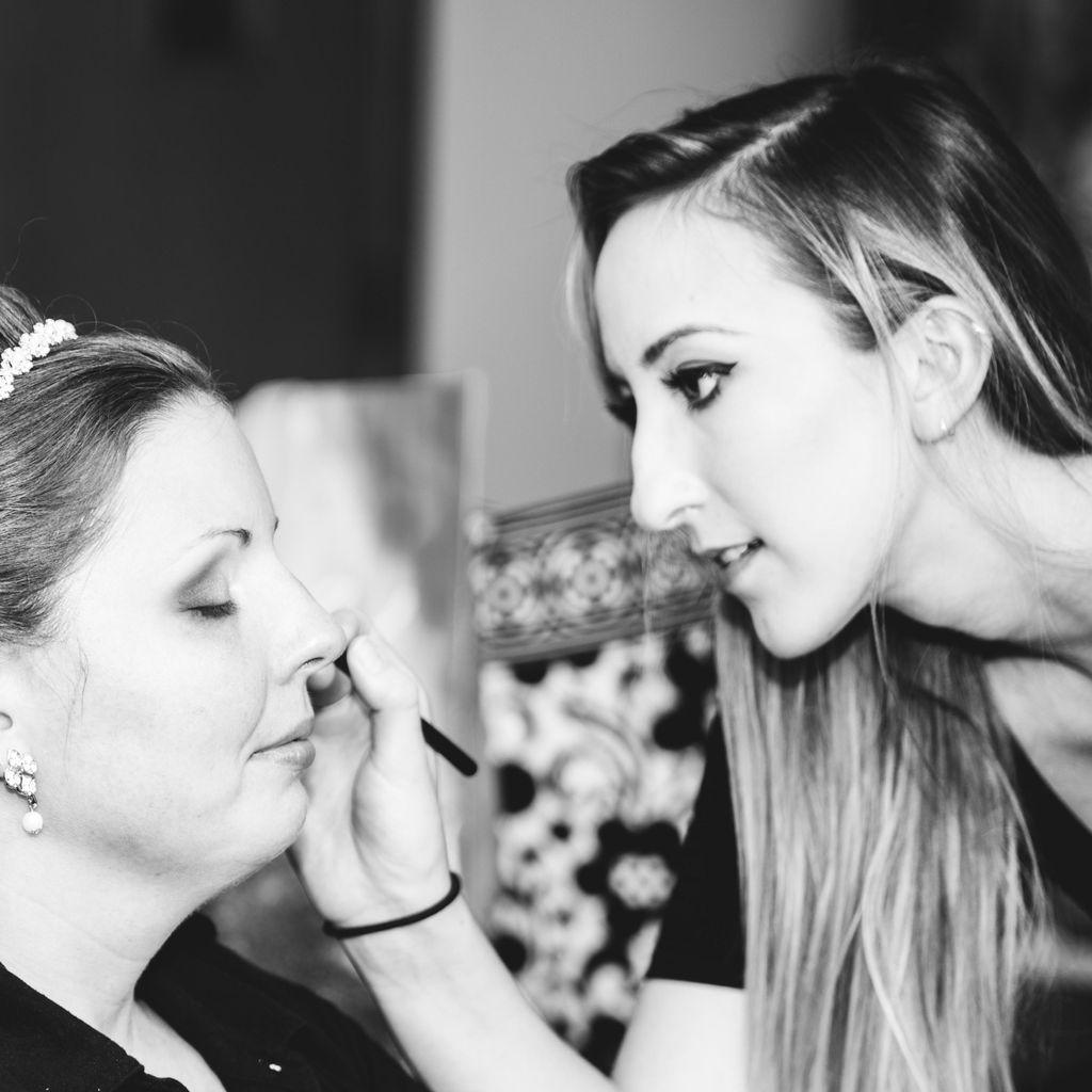 Makeup by Katie Hart