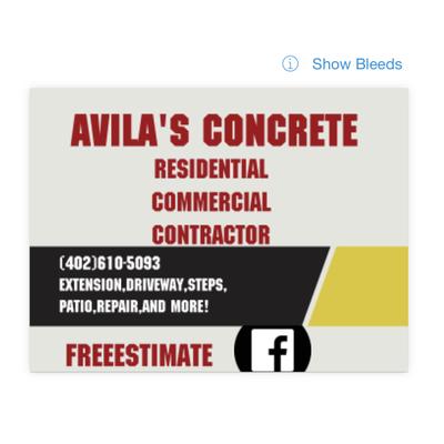 Avatar for Avilas Concrete Lincoln, NE Thumbtack