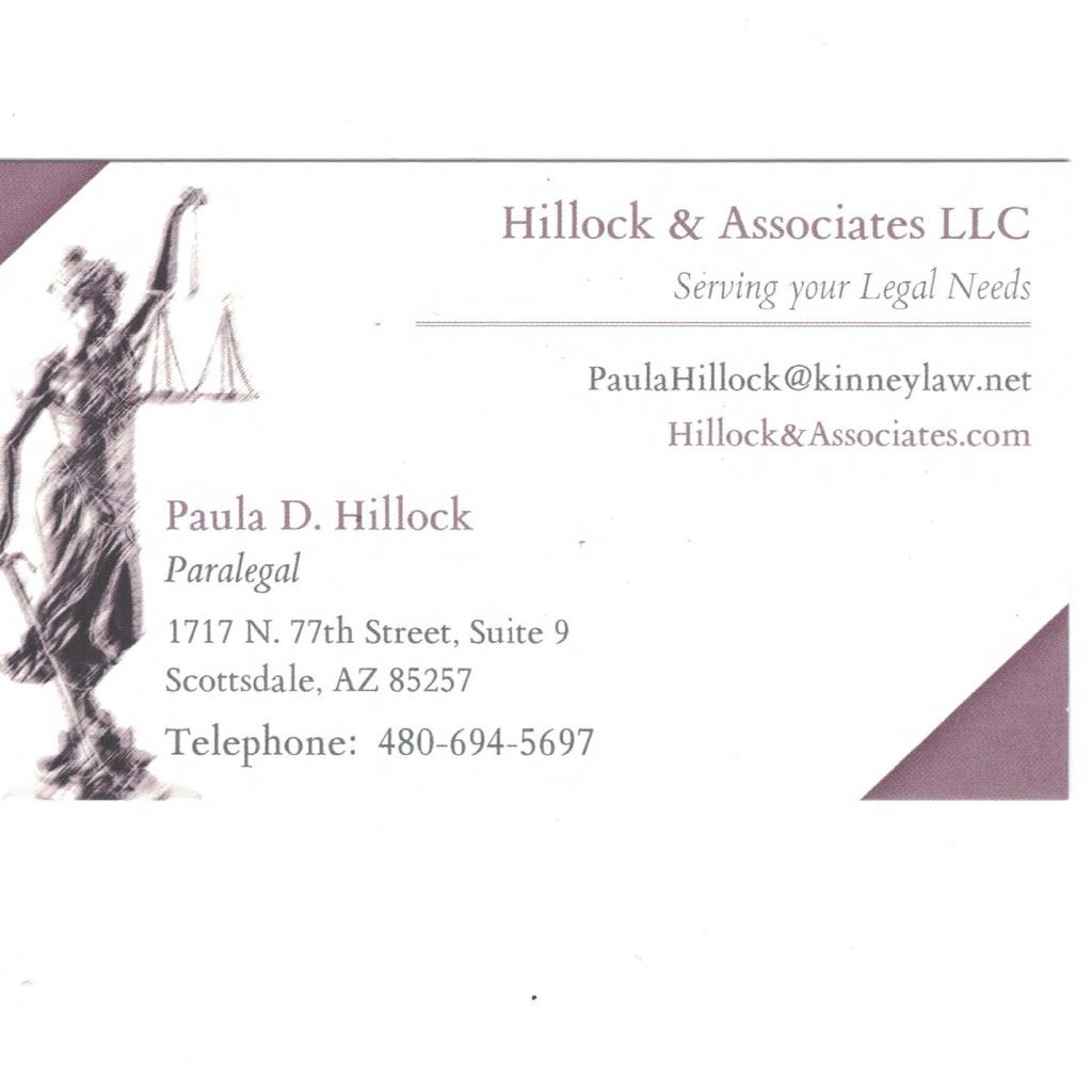 Hillock Associates/Law Offices of Kyle Kinney