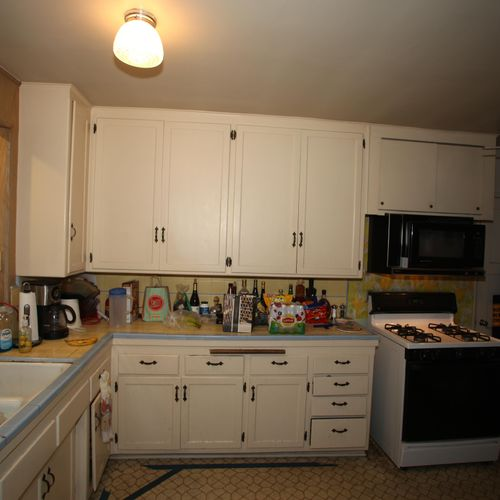 Kitchen (south view, before)