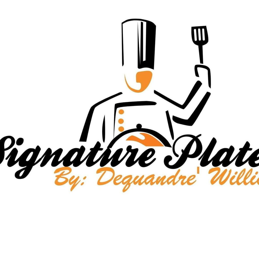 Signature Plates by Dequandre Williams