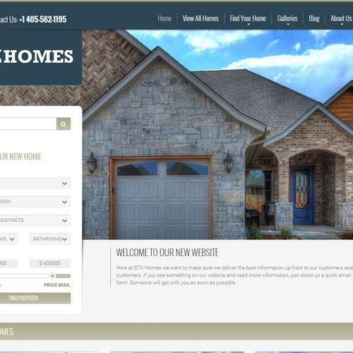 STK Homes website