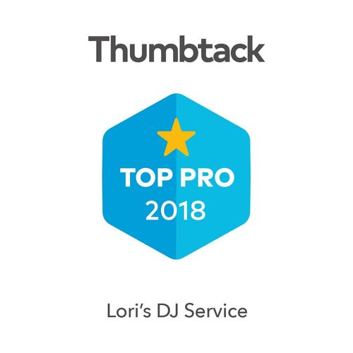 Want the best DJ? Hire the certified best! DJ LORi is named as Thumbtack Top Pro of 2018!