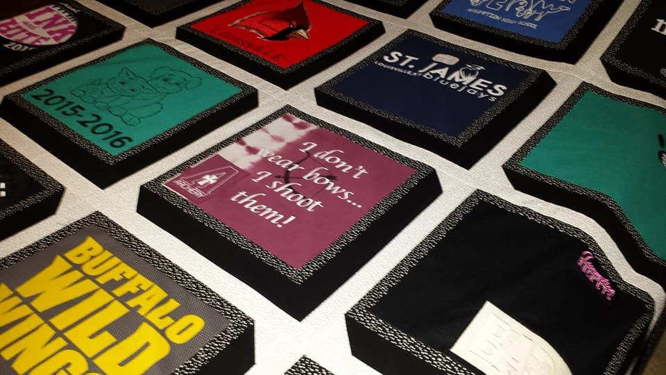 T-Shirt Quilts - Lots of Styles