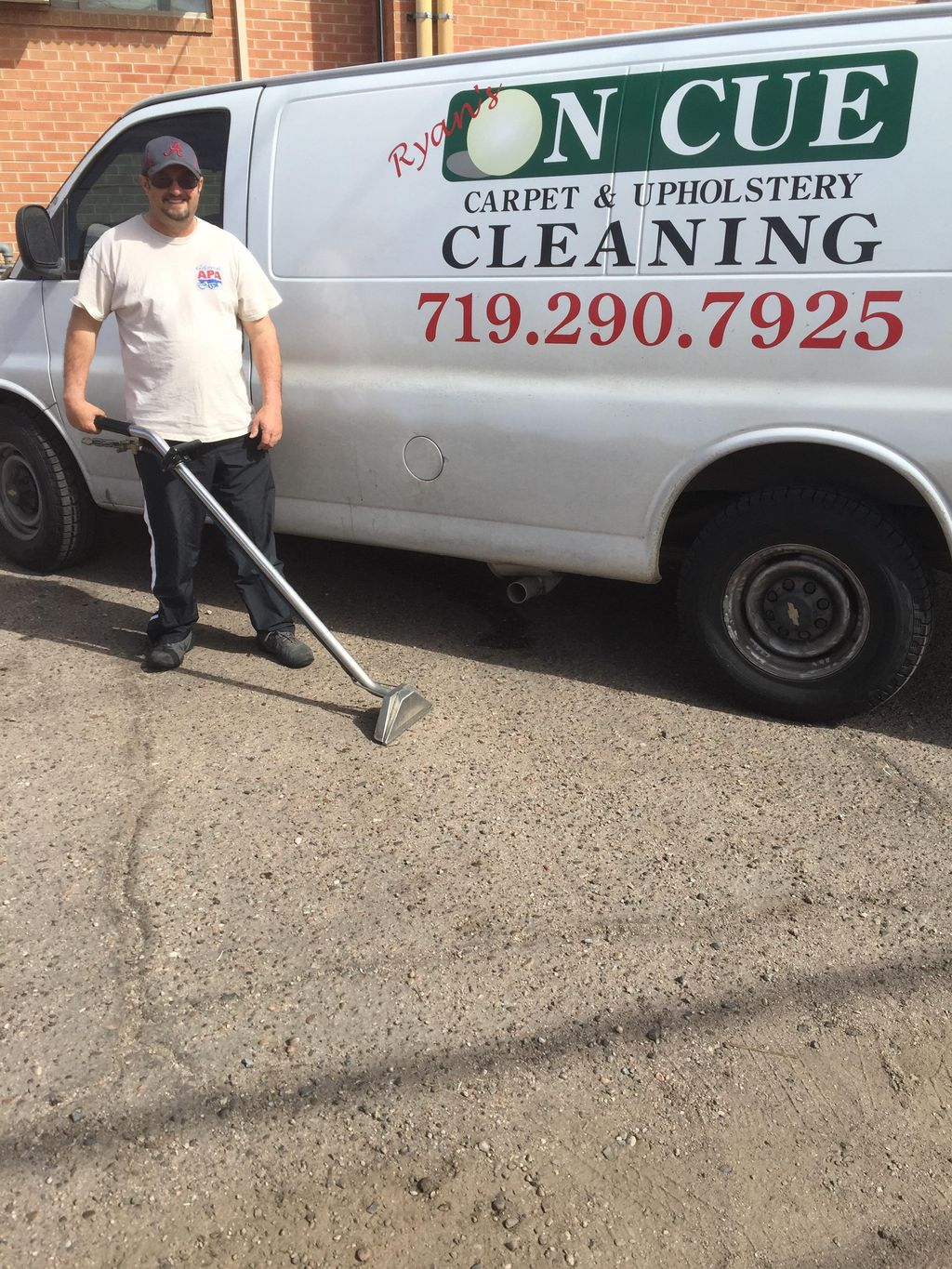 Ryan's on cue carpet cleaning