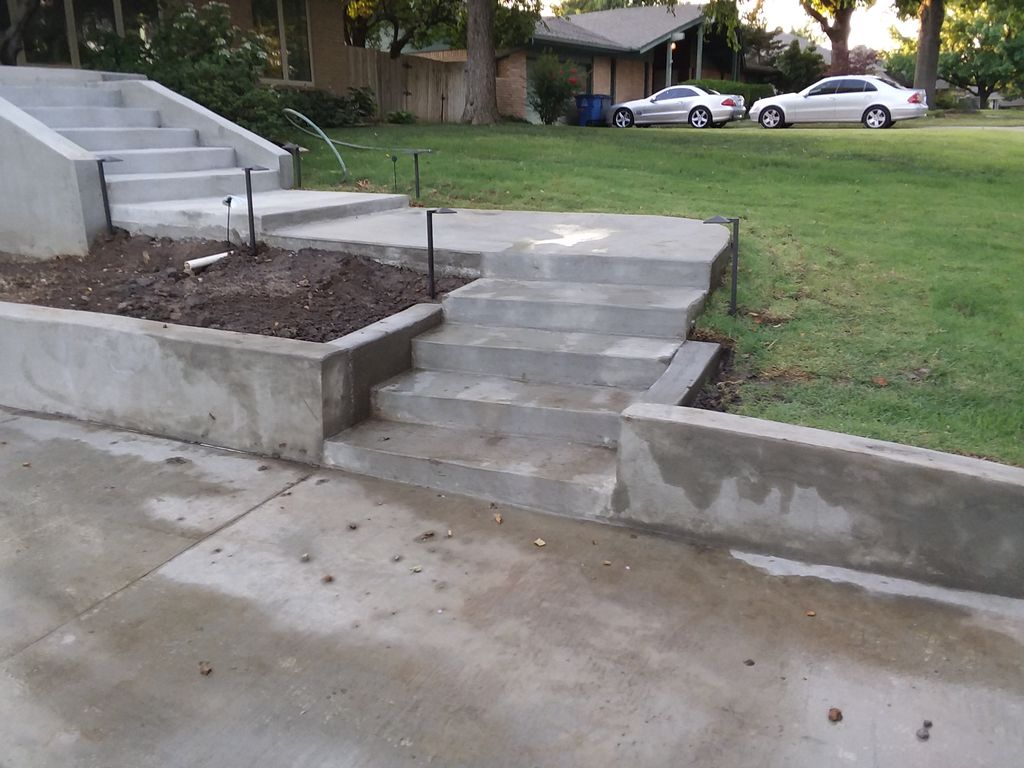 Concrete Wing Wall Installation