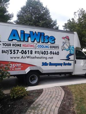 Avatar for AirWise Heating & Cooling Ingleside, IL Thumbtack