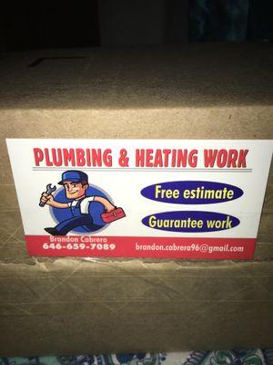 Avatar for Plumbing & Heating work