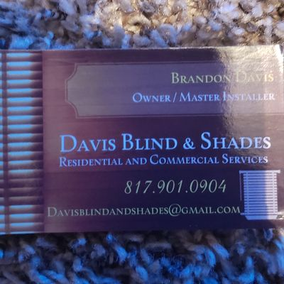 Avatar for Davis Blind and Shades