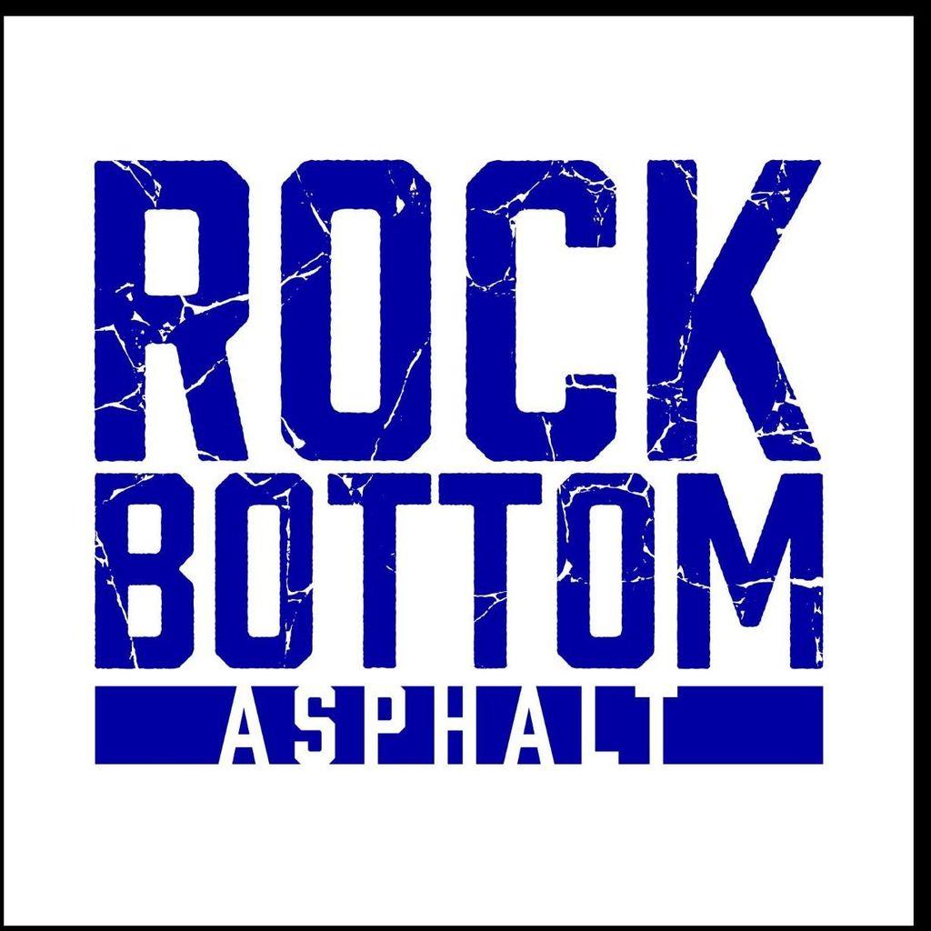 Rock bottom asphalt