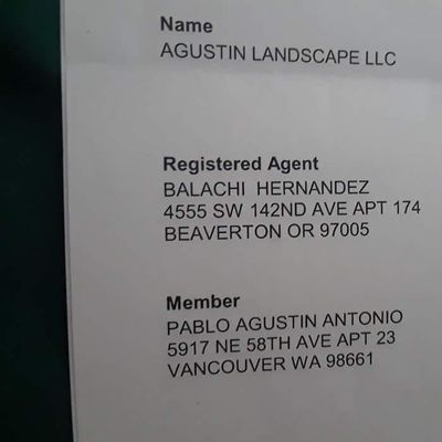 Avatar for Agustin Landscape LLC