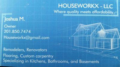 Avatar for Houseworkx LLC Teaneck, NJ Thumbtack