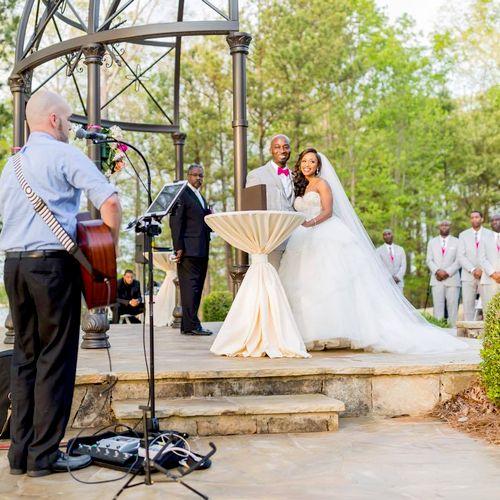 Wedding at Lake Lanier Island