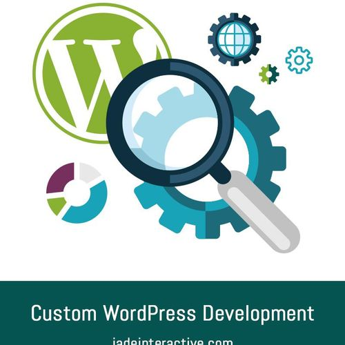 We've been building custom WordPress sites since 2005 and would love to create one just for your business. From design, to content, through the optimization, we do it all. And we offer training too!