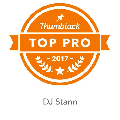 Dj Stann has been a Thumbtack Top Pro for 2 consecutive years.