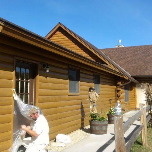 Log Home in Shakopee