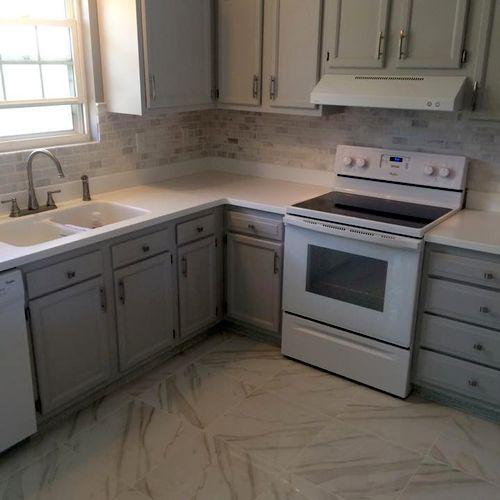 Janice's kitchen.