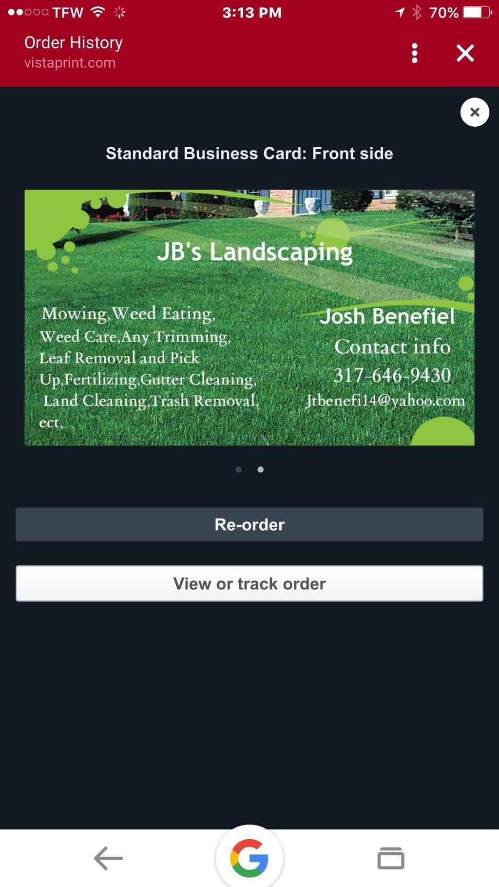 JB's LandScaping