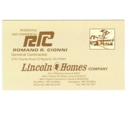 Avatar for LINCOLN HOMES Rayland, OH Thumbtack