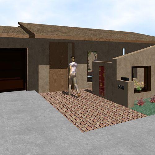 Matthews Multi-Family Housing  Marketing 3D front view