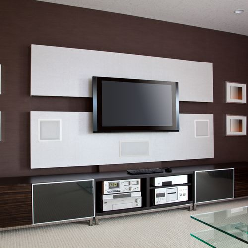 Television Mounting, Surround Sound, Ambient (Background) Sound, and Home Theater