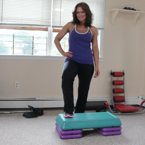 Kimberly Caso is a certified personal trainer and a group exercise instructor in Yonkers, NY.