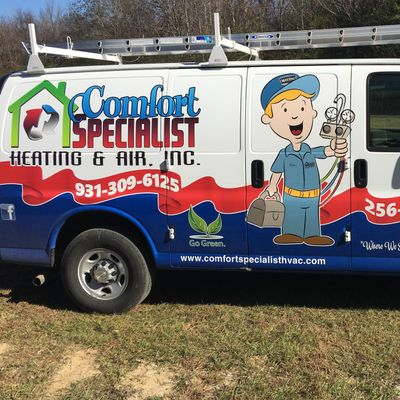 Avatar for COMFORT SPECIALIST HEATING AND AIR