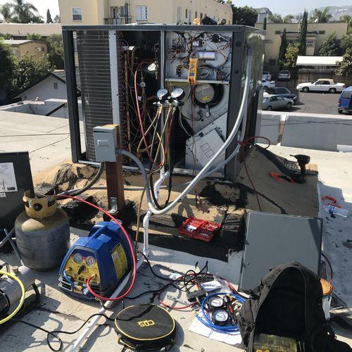 Packaged Unit Repair