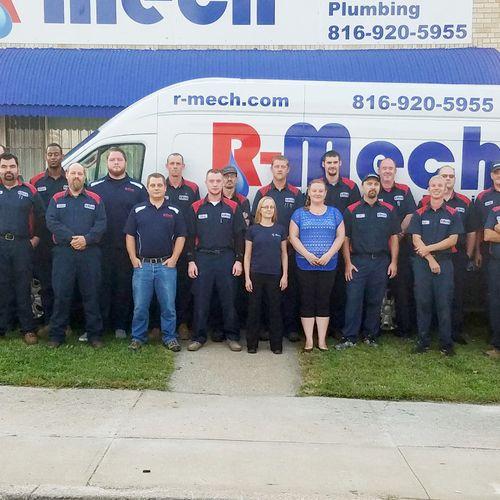 The R-Mech Crew