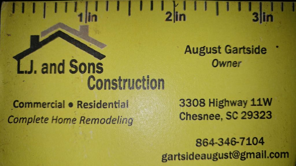 LJ and Sons Construction