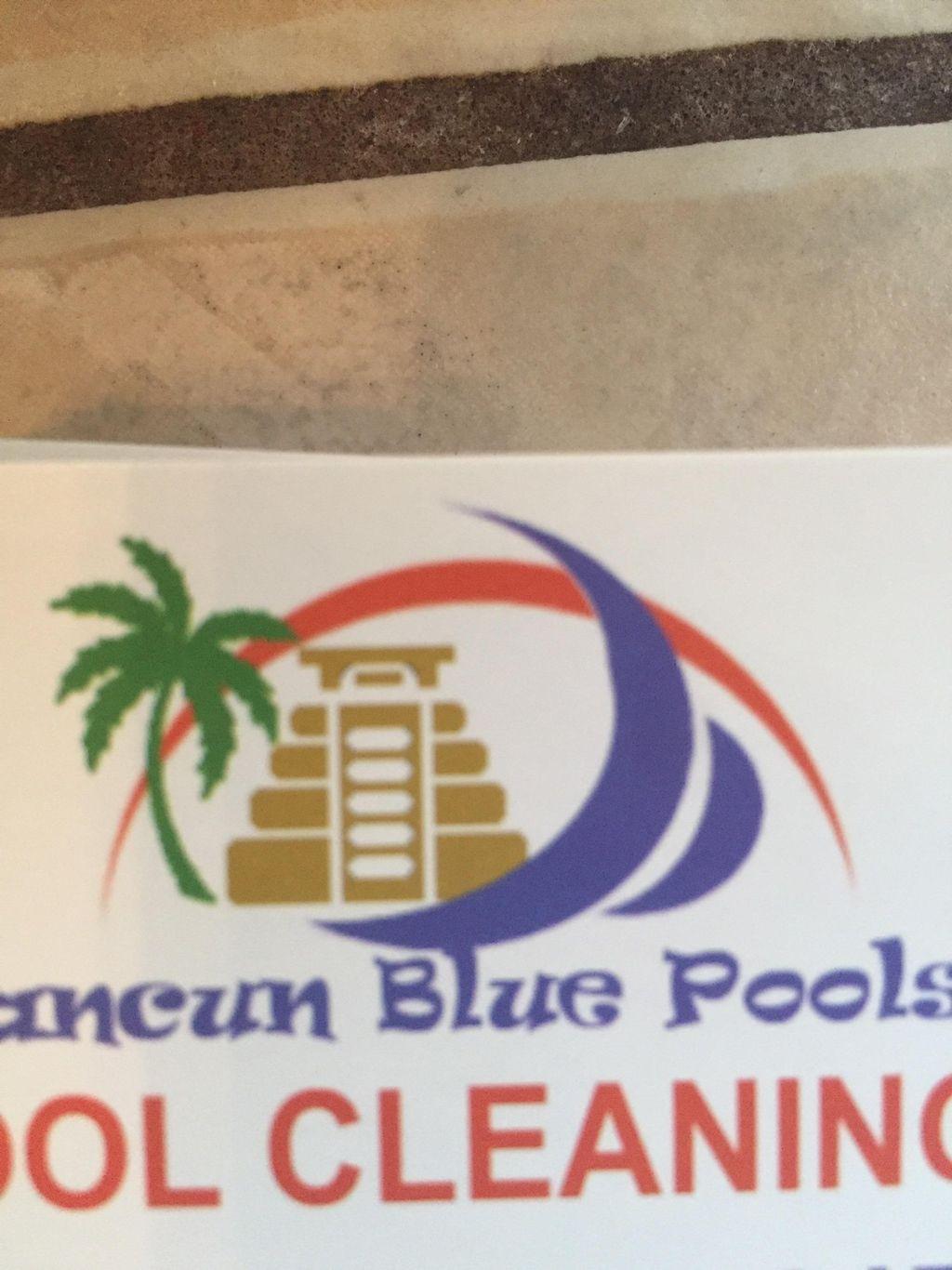 Cancun Blue Pools