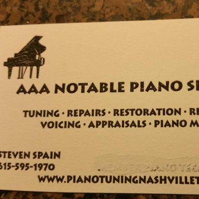 Avatar for Notable Piano  Services Franklin, TN Thumbtack