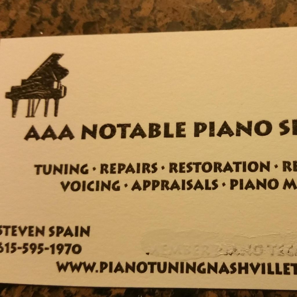 Notable Piano  Services