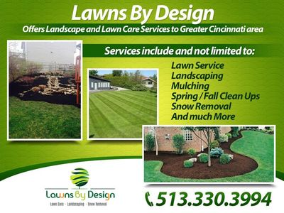 Avatar for Lawns by Design Cincinnati, OH Thumbtack