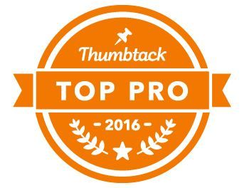 Another Badge of Honor from Thumbtack -  I'm blushing!!!