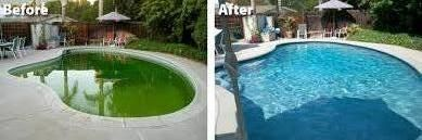 Here's a pool I restored in Calabasas