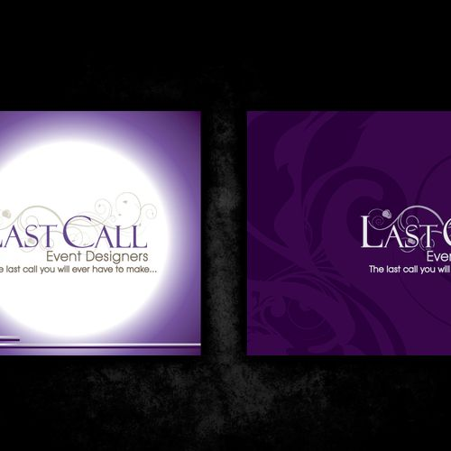 Logo and business card creation for Event Planning company