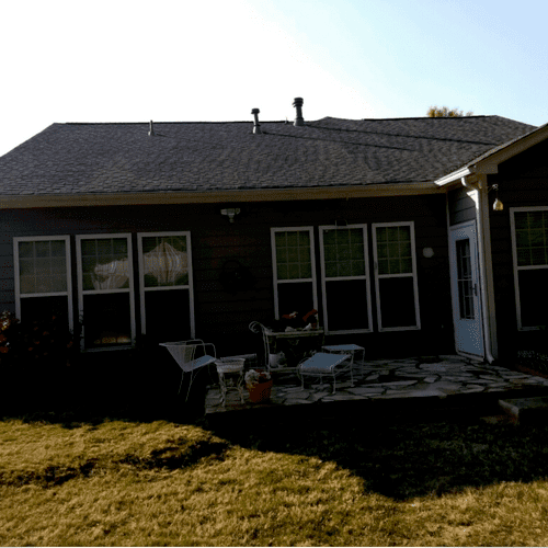 Congrats to the Brunnenmeyer's on their New Roof.