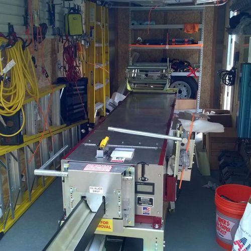 "KWM Gutterman 5/6"" Combo Machine -  trailer mounted"
