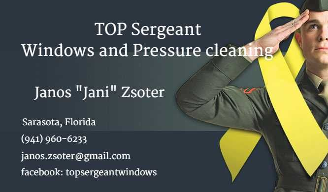 Top Sergeant Windows and Pressure Cleaning LLC