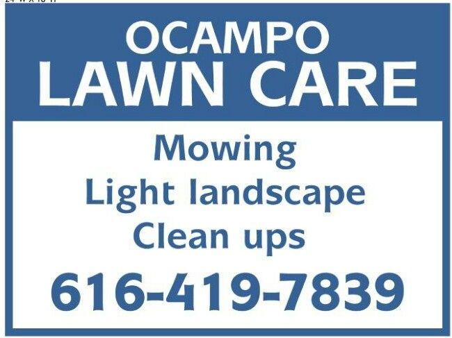 Ocampo Lawn Care Maintenance