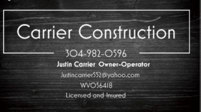 Avatar for Carrier Construction Huntington, WV Thumbtack