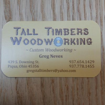Avatar for Tall Timbers Woodworking