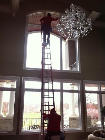 Interior Window Cleaning- Northville