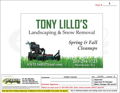 Avatar for Tony Lillo's Landscaping and Snow Removal