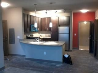 Kitchen in 6 floor, 98 unit project just completed