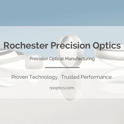 Graphic for Rochester Precision Optics online media.